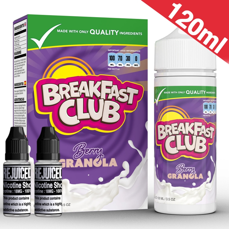 120ml Berry Granola - Breakfast Club Shortfill