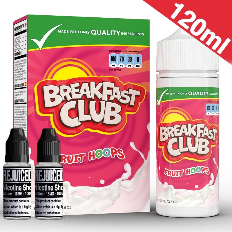 120ml Fruit Hoops - Breakfast Club Shortfill