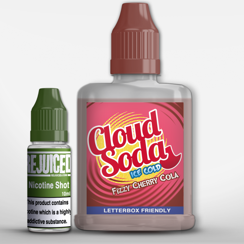 Fizzy Cherry Cola- CloudSoda Shortfill