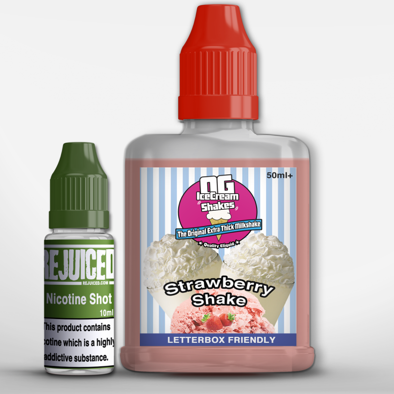 Strawberry Shake - OG Ice Cream Shake Shortfill