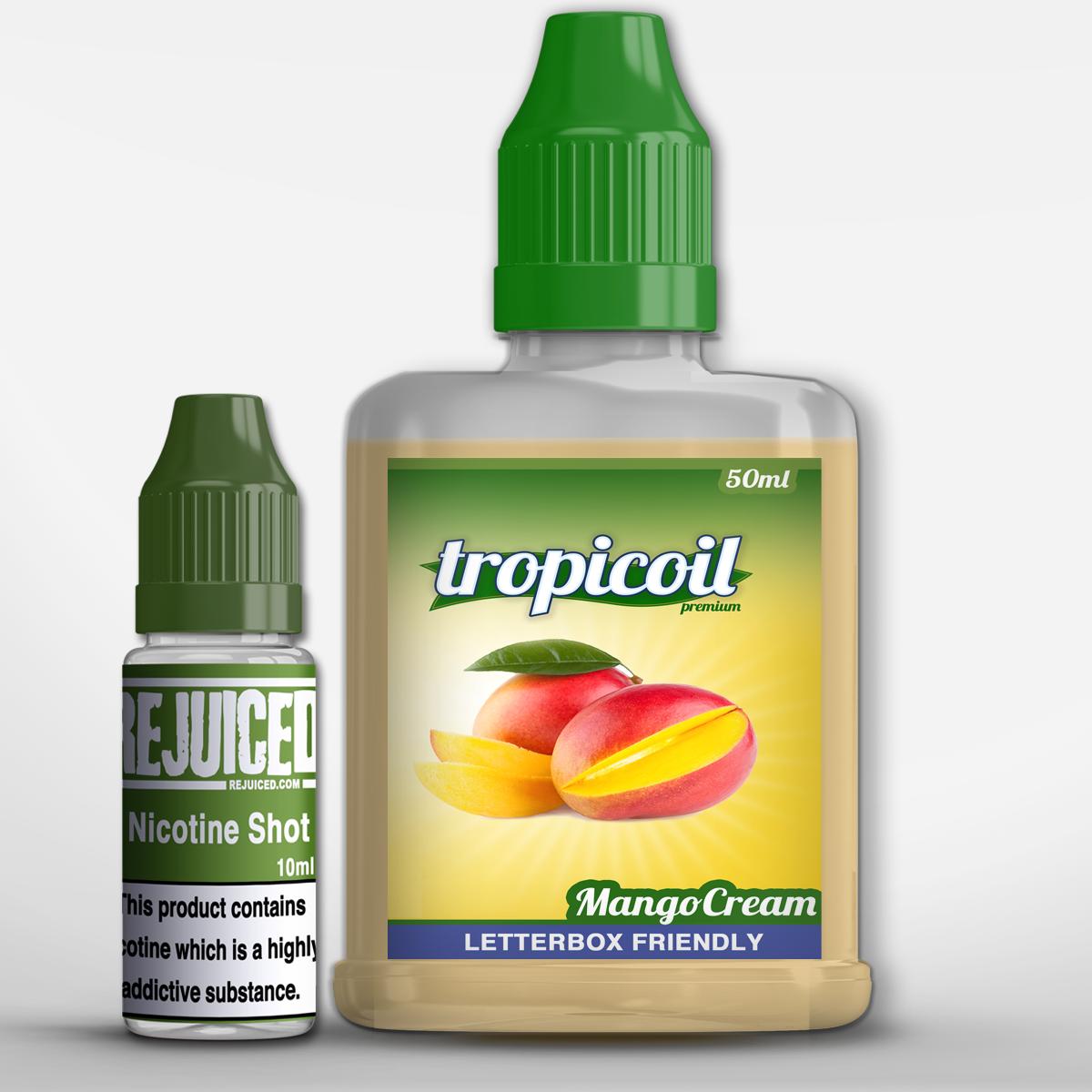 Mango Cream - 50ml Shortfill - Tropicoil
