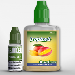 Mango Cream - 50ml Shortfill - Tropicoil