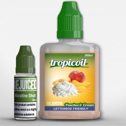 Peaches & Cream - Tropicoil Shortfill