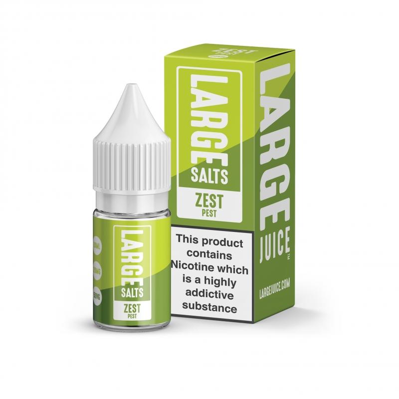 Zest Pest Nic Salt - Large Juice