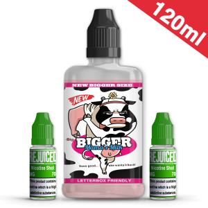 120ml Bigger Mama's Milk Shortfill