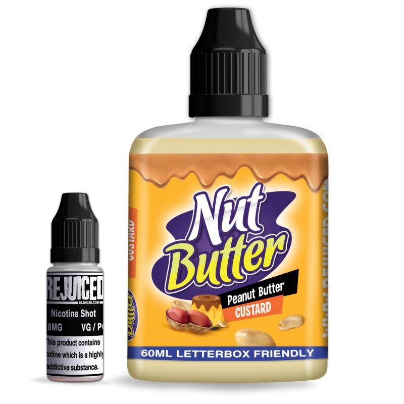 Peanut Butter Custard - NutButter Shortfill