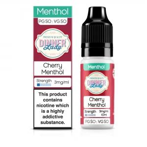 Cherry Menthol 50VG - Dinner Lady