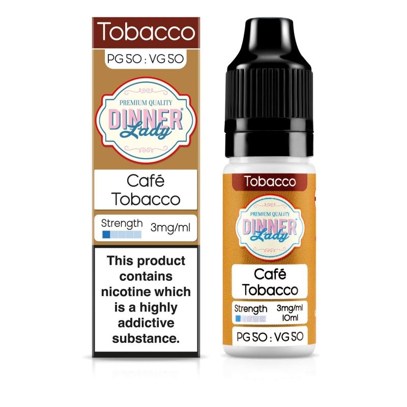Cafe Tobacco 50VG - Dinner Lady