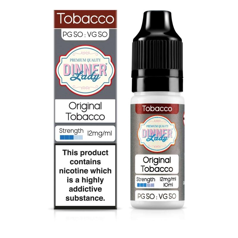 Straight Tobacco 50VG - Dinner Lady