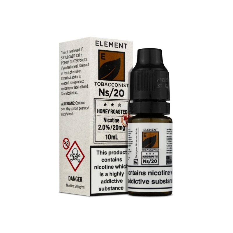 Honey Roasted Tobacco Nic Salt - Element