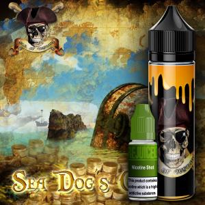 Sea Dog's Custard -  Shortfill
