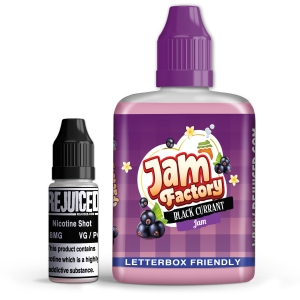 Blackcurrant Jam - Jam Factory Shortfill