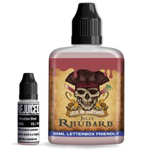 Jolly Rhubarb  -  Isle of Custard Shortfill