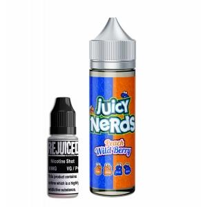 Peach Wild Berry - Juicy Nerds Shortfill