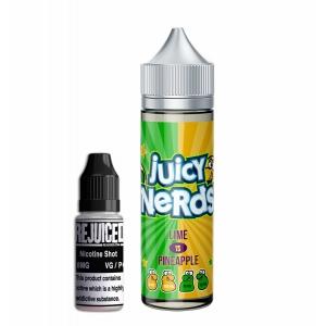 Lime vs Pineapple - Juicy Nerds Shortfill