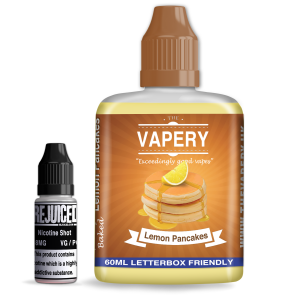 Lemon Pancakes - The Vapery Shortfill