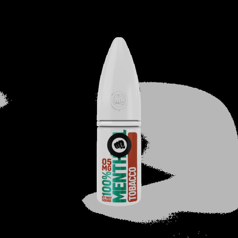 100% Menthol Tobacco Nic Salt - Riot Squad