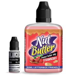 Strawberry Peanut Butter Jelly - NutButter Shortfill