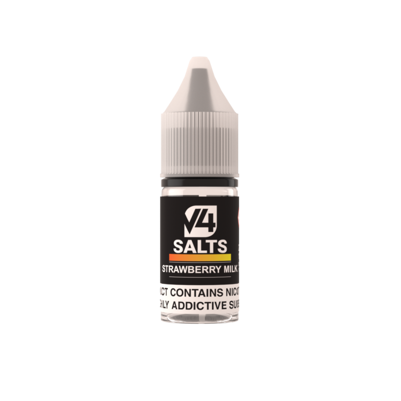 Strawberry Milk Nic Salt - V4pour