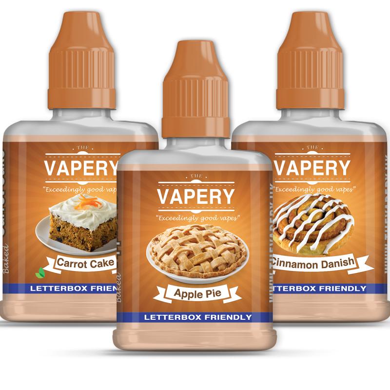 180ml Vapery Shortfill Sample Pack