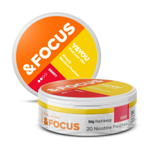 Berry Focus - Nic Pouches - V&YOU