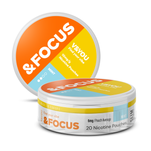 Mint Focus - Nic Pouches - V&YOU